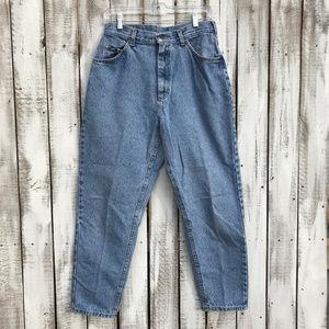 Vintage LeeTapered Leg High Rise Mom Jeans 12P